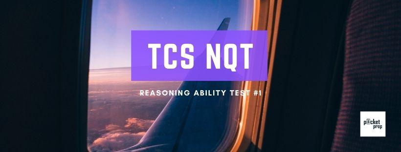 TCS Reasoning Ability #1