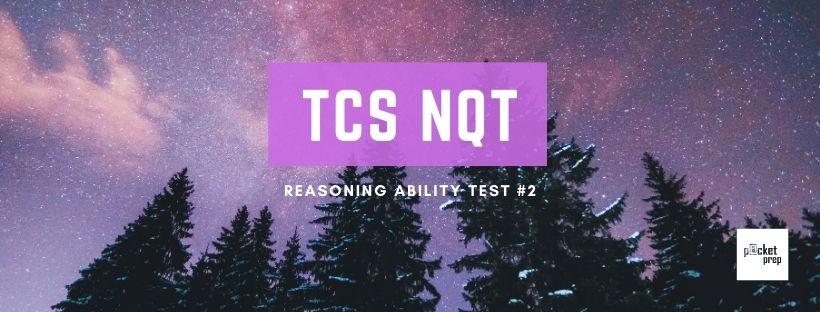 TCS Reasoning Ability #2