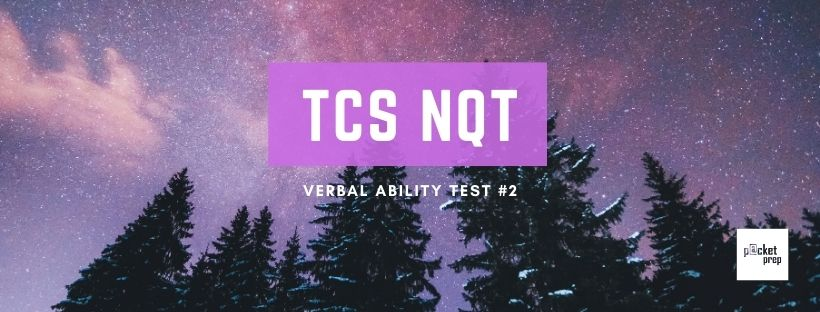 TCS Verbal Ability #2